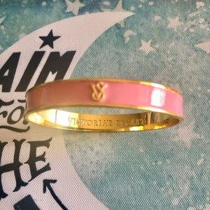 Victoria's Secret Pink & Gold Rare Bangle Bracelet